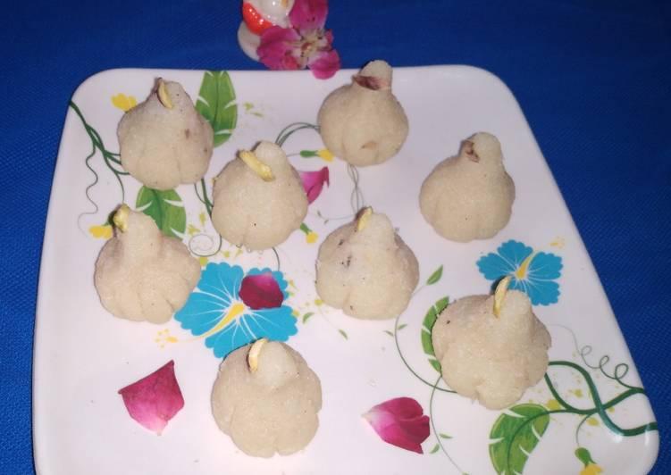 Milky coconut Modak