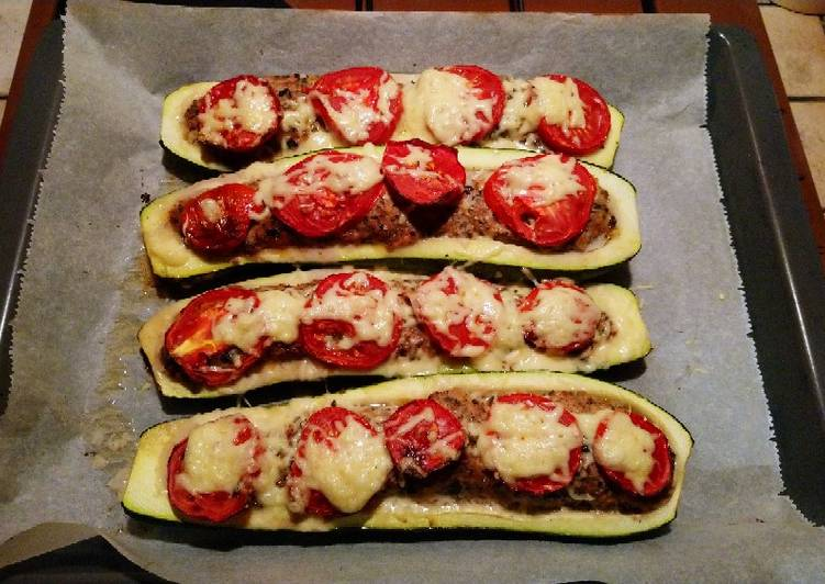 Recipe: Perfect Courgettes farcies