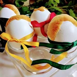 Huevos de Pascua para la merienda de los peques