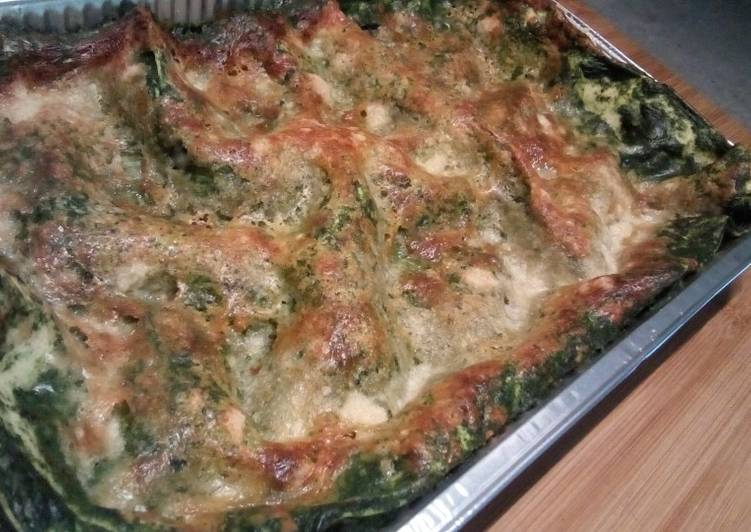 Lasagne di spinaci