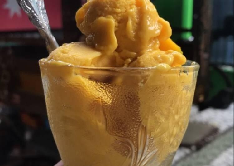 Mango Gelato (Gelato Mangga)