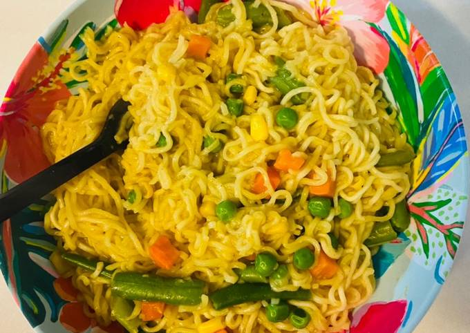 Easy pesy minutes made noodles 🍝
