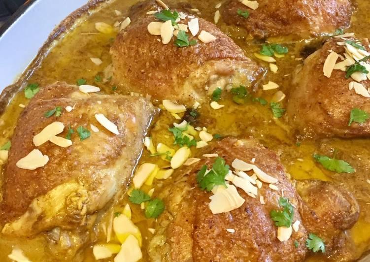 Garam Masala Chicken With Almonds