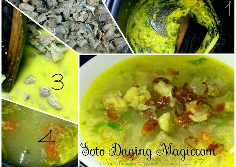 Soto daging magic com