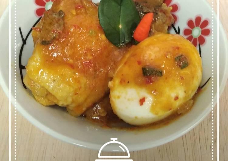 Ayam Telur Rica-Rica