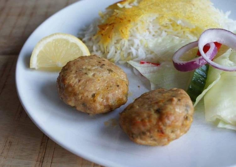Saffron chicken Kebab