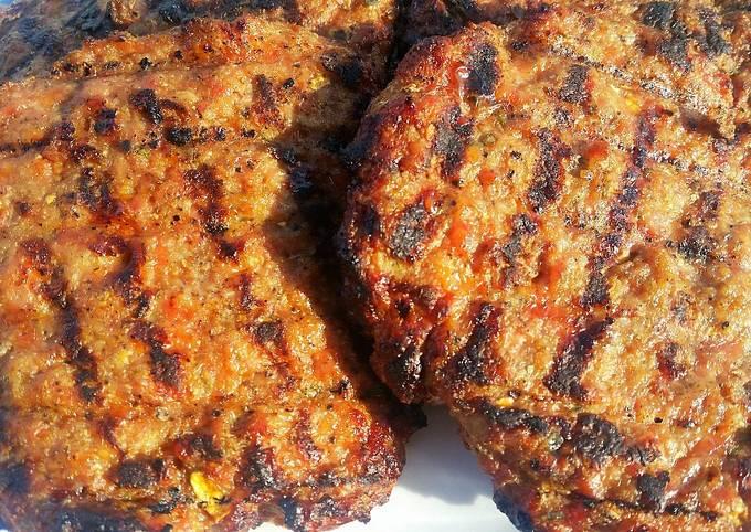 Pork Gyoza Burgers