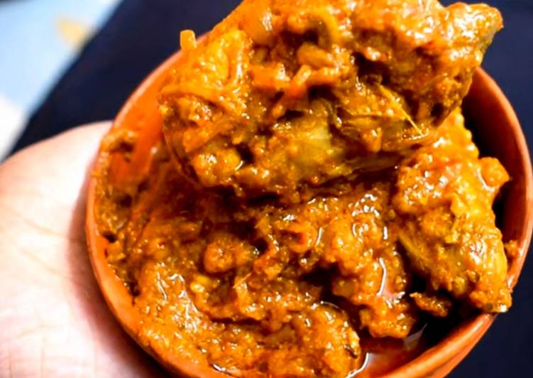 Recipe of Favorite Dhaba Style Chicken Curry