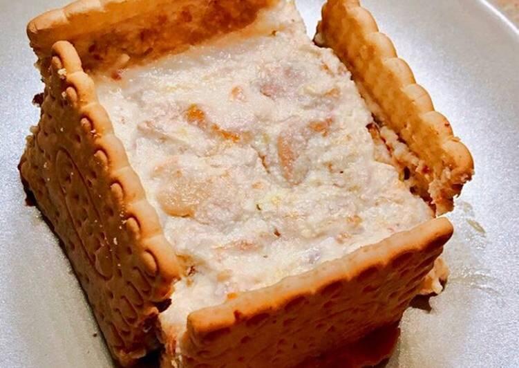 Ricetta Square-cheesecake delicata🍪🍫🍑