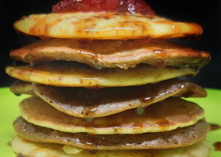 Resep Pancake lembut simple Favorit