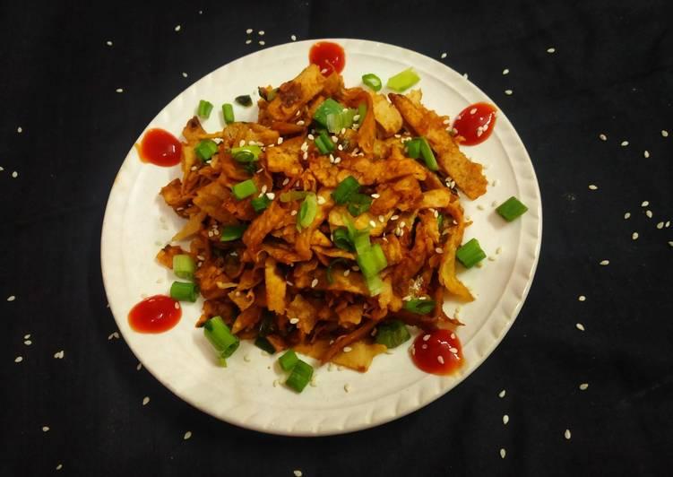 Recipe of Super Quick Homemade Chapati Noodles