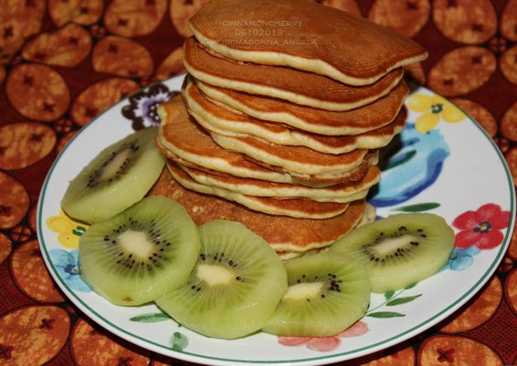 Recipe of Quick Kiwi Pancakes