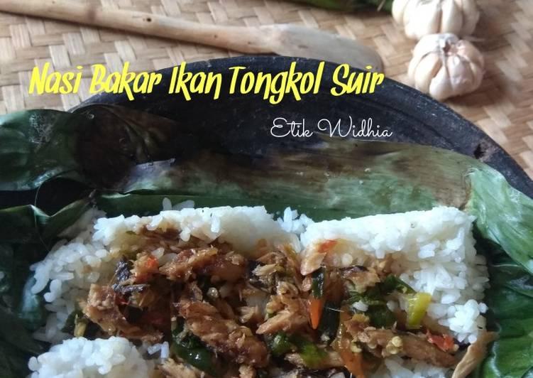 Nasi Bakar Ikan Tongkol Suir - cookandrecipe.com