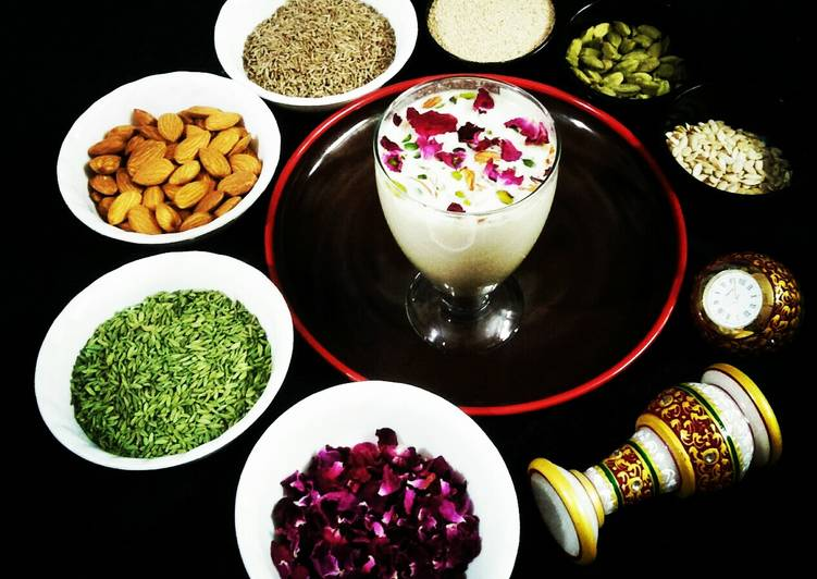 African Dish Traditional Thandai (Instant Mix)