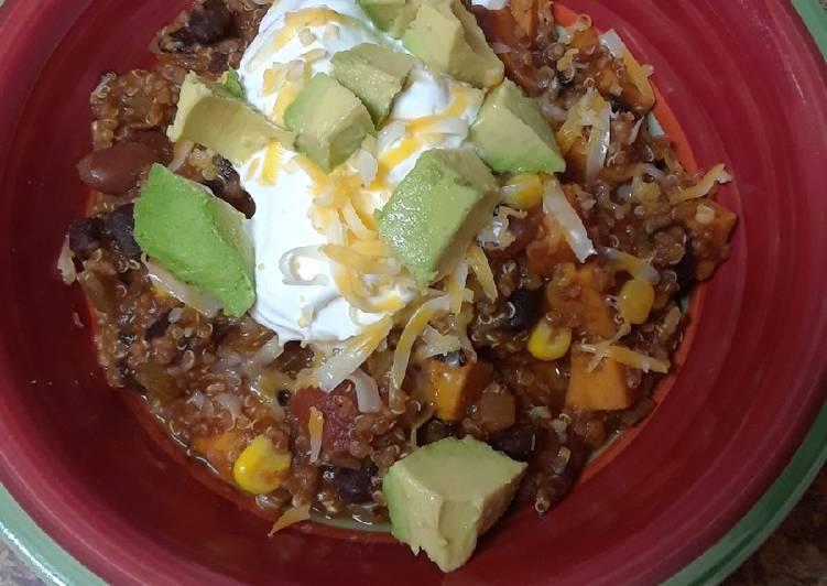 Recipe: Appetizing Quinoa Chili