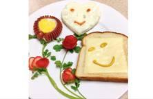 Bữa sáng cho bé