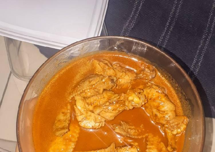 Resep Ayam rendang ala anak kos (mejikom), Lezat