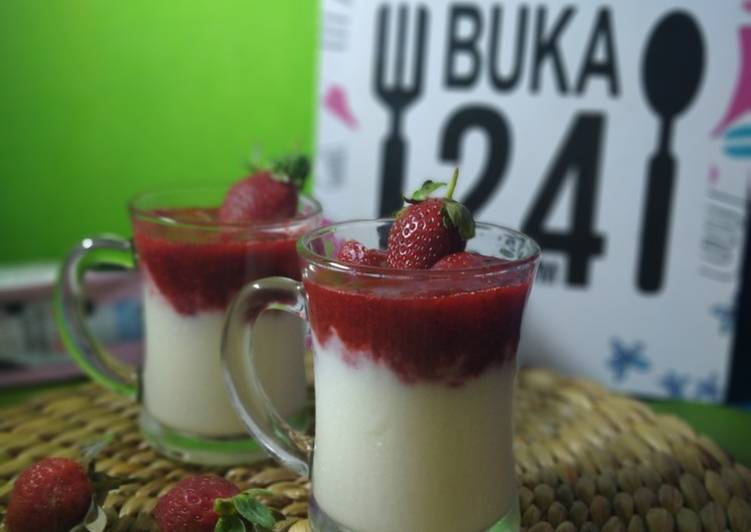 Panacotta Strawberry