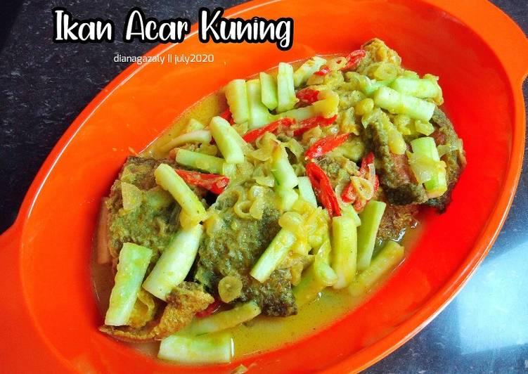 Ikan Acar Kuning ala diana_az - cookandrecipe.com