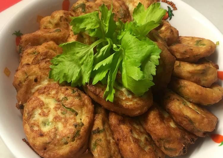 Perkedel Tahu Daging Ayam
