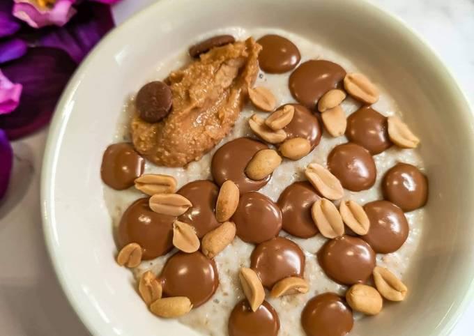 🤩🤩 Porridge façon snickers 🤩🤩