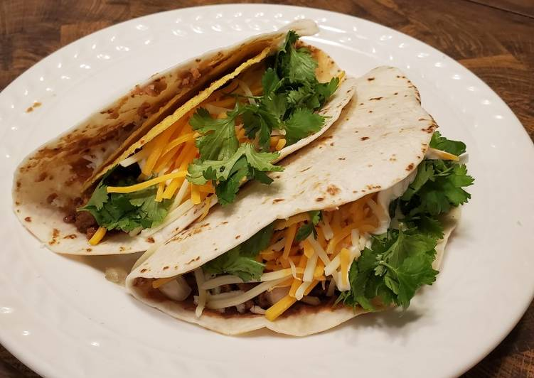 Brad's copycat taco bell double decker tacos