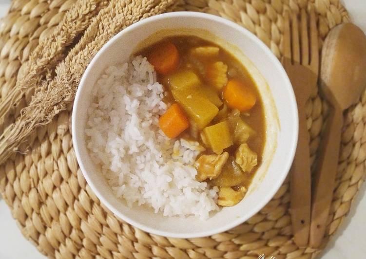 Chicken curry japanese style / kari ayam jepang - cookandrecipe.com