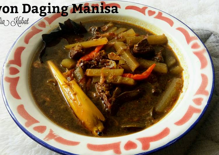 Resep Rawon Daging Manisa Yang Populer Pasti Sedap