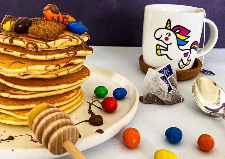 Le moyen le plus simple de Cuire Parfait Pancakes moelleux