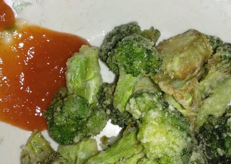 Brokoli goreng saos pedas