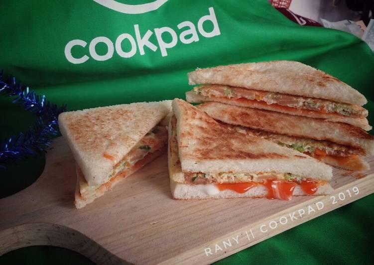 Resep Sandwich ala Korea Paling Enak