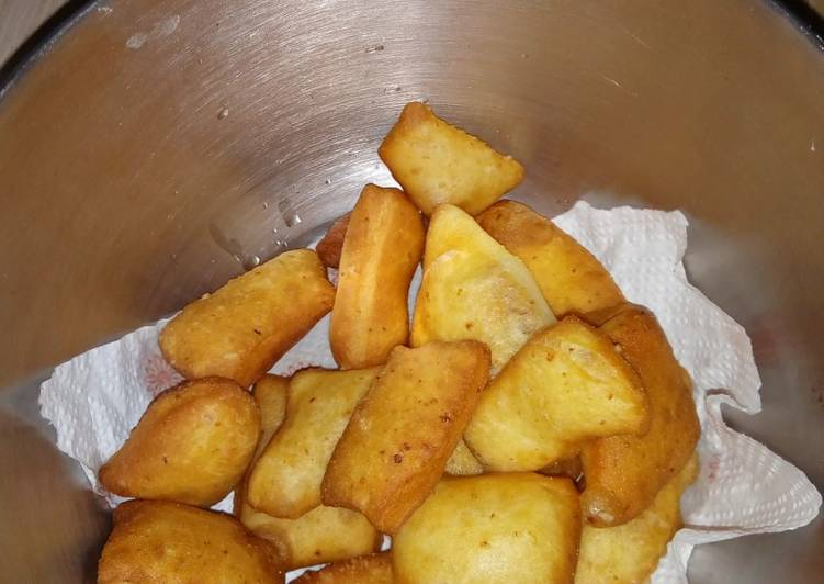 Steps to Prepare Speedy Mandazi using maziwa mala