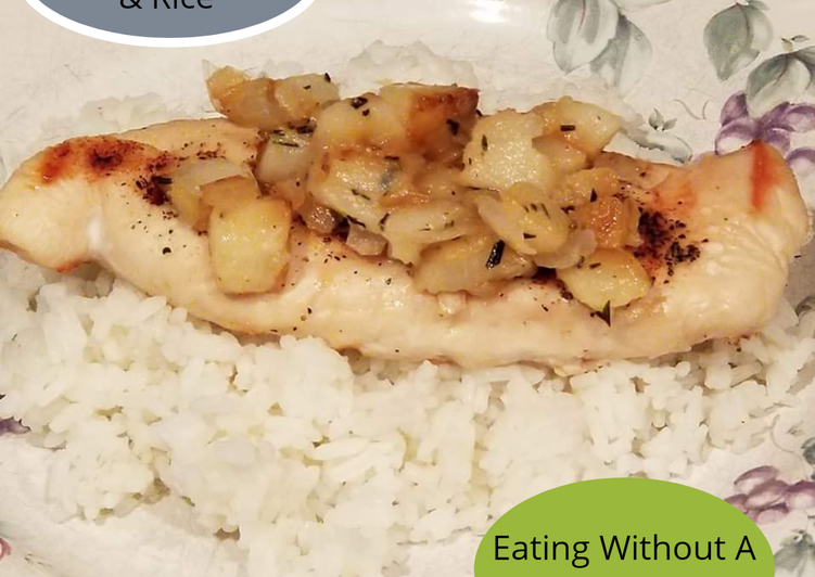 Pear Chicken & Rice