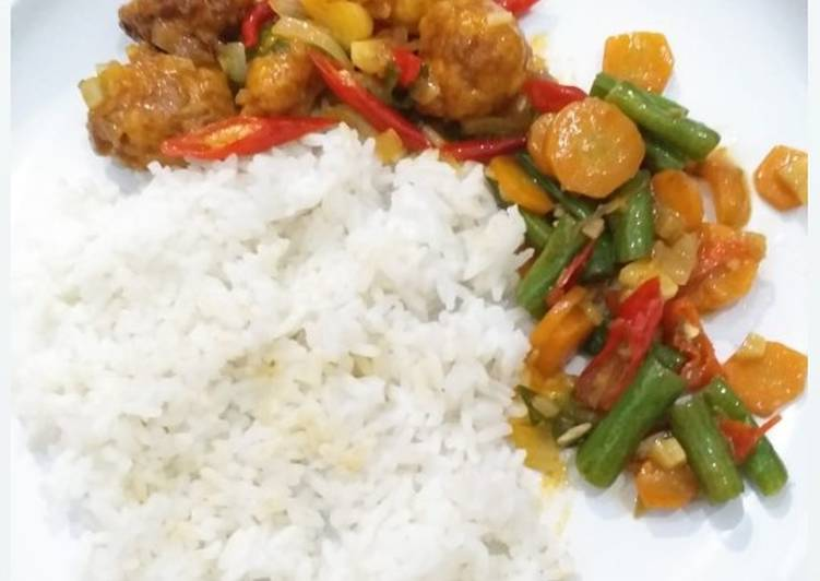 Resep Spicy Dori Rice Bowl Oleh Alnia Cookpad