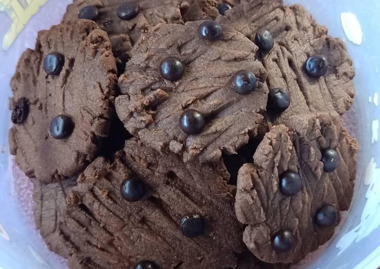 21. Chocochip Butter Cookies Coklat