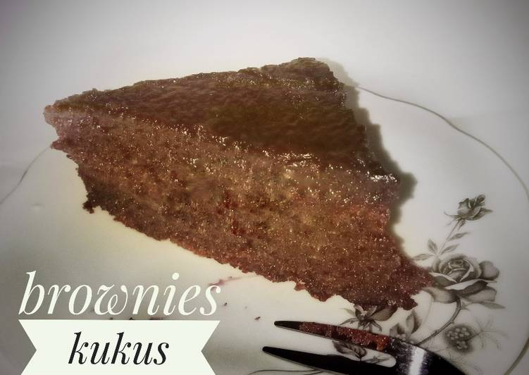 Brownies Kukus Chocodrink