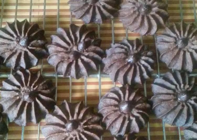Cara Gampang Membuat Semprit coklat DCC, Enak Banget
