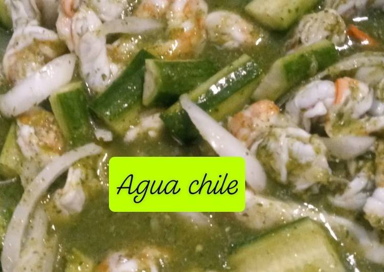 Living Greener for Good Health By Consuming Superfoods, Agua Chile - shrimp in chile