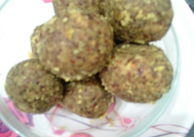 Flax seeds ladoo - Laurie G Edwards