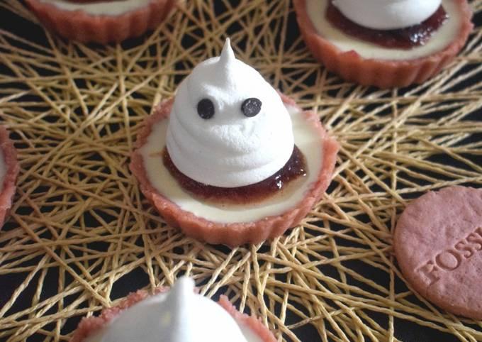 Tartelettes pour halloween sans cuisson