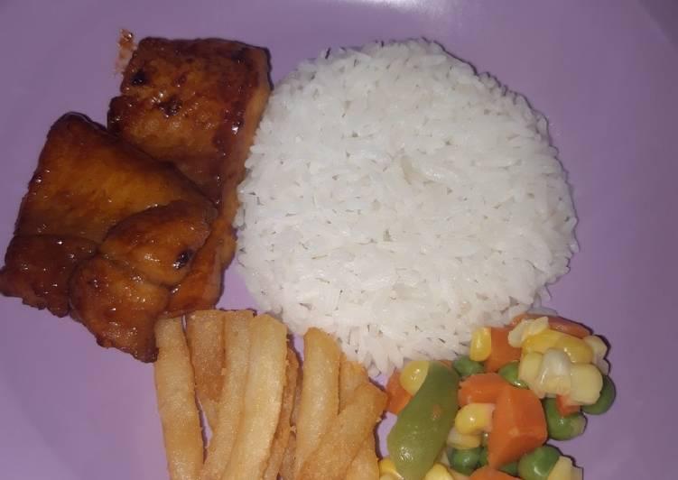 Dori fish steak