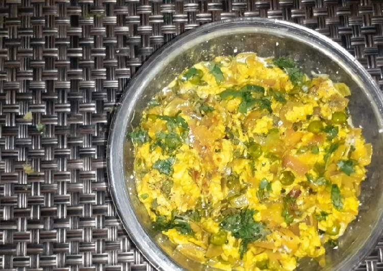 Restaurant style paneer bhurji