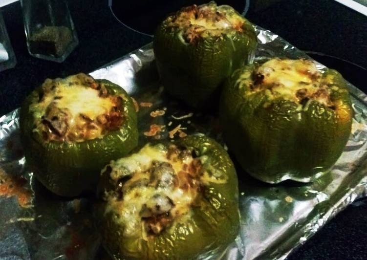 How to Cook Tasty Fajita Style Stuffed Green Peppers! A must have meal for everyone!