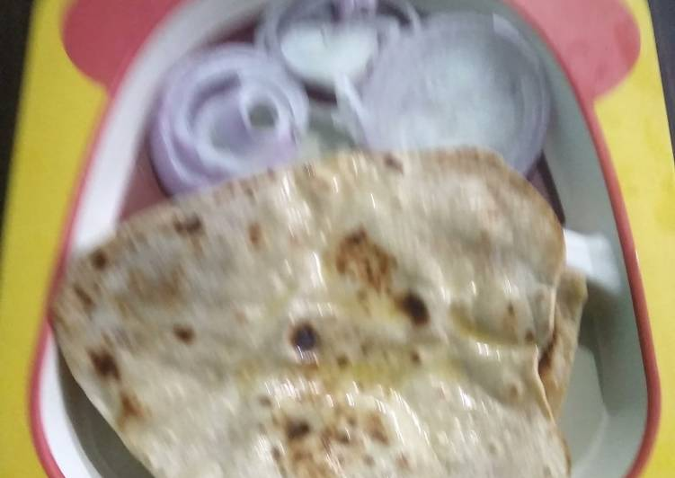 5 Minute Recipe of Speedy Wheat Butter Naan