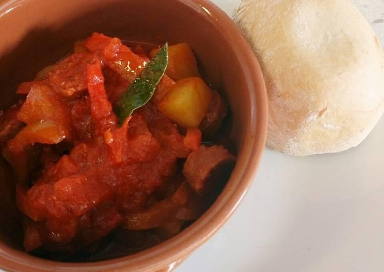 Recipe: Appetizing Pollo alla Norma