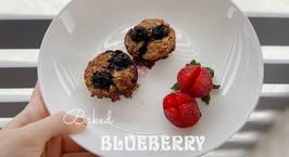 Hình ảnh món Baked blueberry oatmeal - ăn dặm