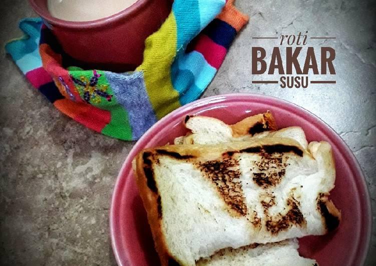Roti bakar susu