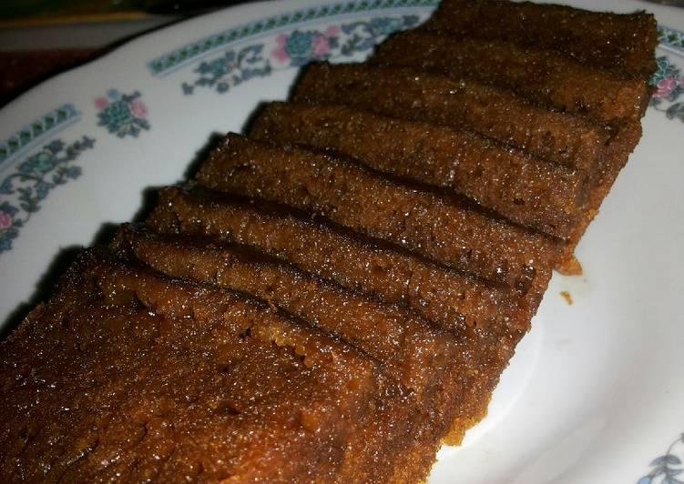 cara buat Bolu karamel kukus simple - Sajian Dapur Bunda