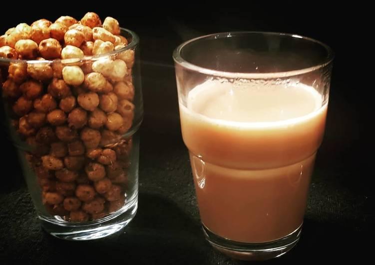 Roasted chickpea & masala chai