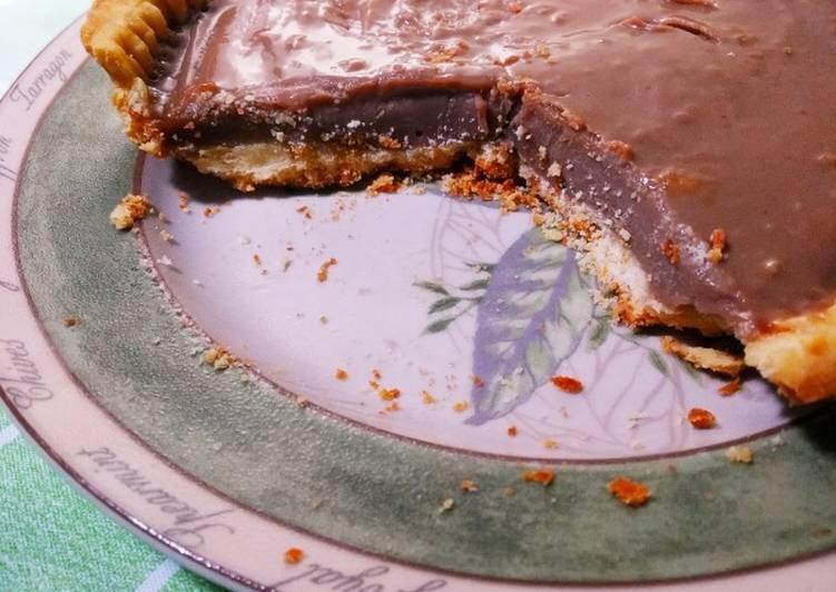 Pie Teflon Cokelat Milo